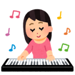 music_keyboard_woman