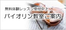バイオリン教室案内